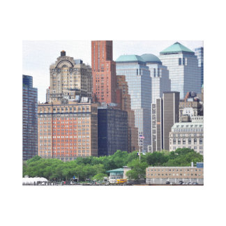 Financial District-Lower Manhattan Canvas Print