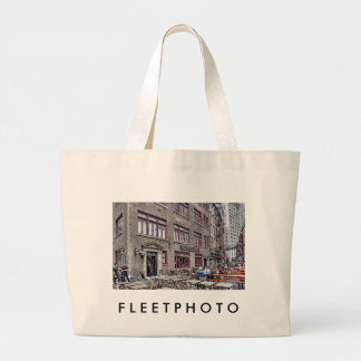 Financial District-Lower Manhattan Large Tote Bag
