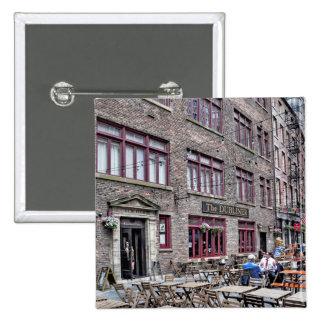 Financial District-Lower Manhattan Pinback Button