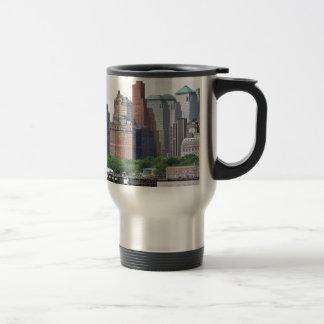 Financial District-Lower Manhattan Travel Mug