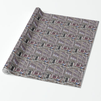 Financial District-Lower Manhattan Wrapping Paper