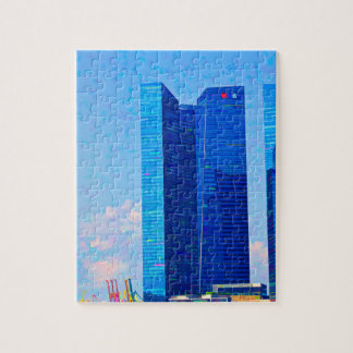 Financial district of Singapore Puzzles