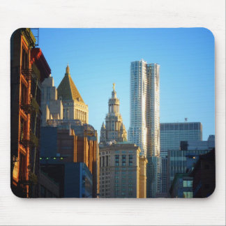 Financial District Skyline Cityscape Mousepad