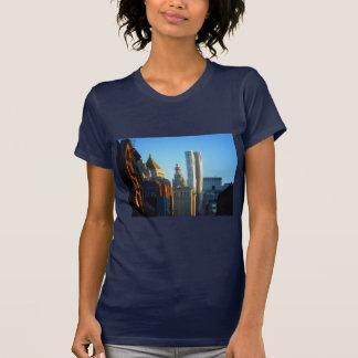 Financial District Skyline Cityscape Tee Shirt