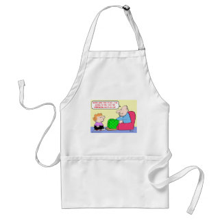 financial facts of life adult apron