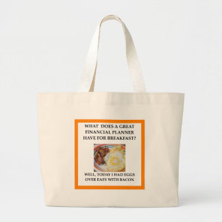 FINANCIAL LARGE TOTE BAG