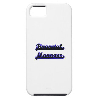 Financial Manager Classic Job Design iPhone 5 Cover