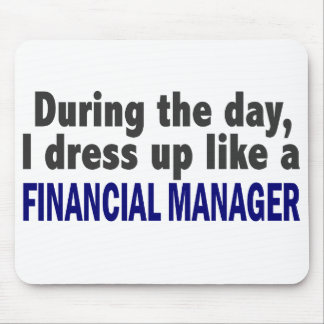 Financial Manager During The Day Mouse Pad