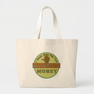 FINANCIAL MANAGER JUMBO TOTE BAG