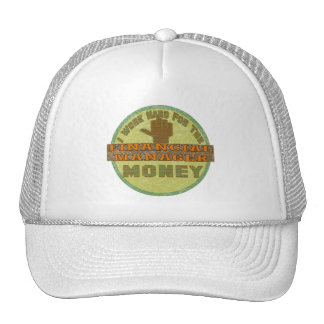 FINANCIAL MANAGER MESH HATS