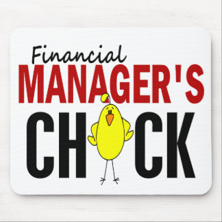 Financial Manager's Chick Mouse Pad