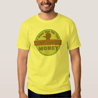 FINANCIAL MANAGER TEE SHIRTS