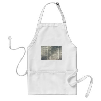 Financial news page aprons