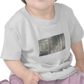 Financial news page t-shirt