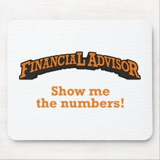 Financial / Numbers Mouse Pad