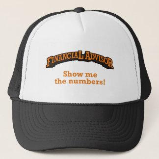Financial / Numbers Trucker Hat
