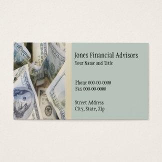 Financial Planner Business Card