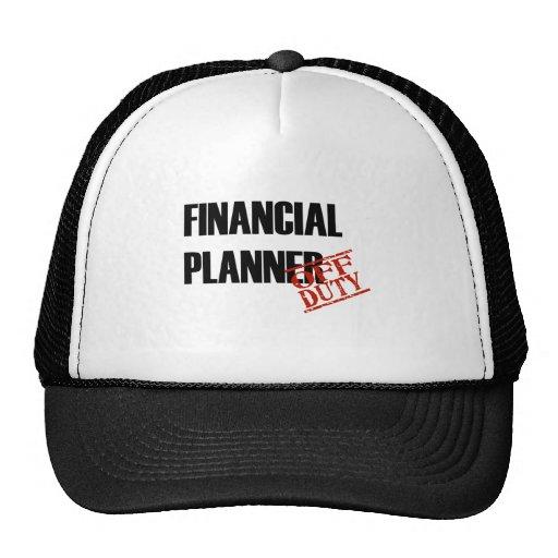 FINANCIAL PLANNER LIGHT TRUCKER HAT