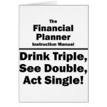 financial planner stationery note card
