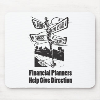 Financial Planners Help Give Directions Mouse Pad