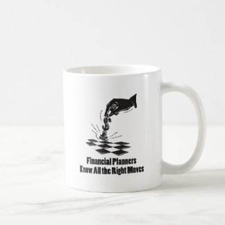 Financial Planners Know All Right Moves Coffee Mug