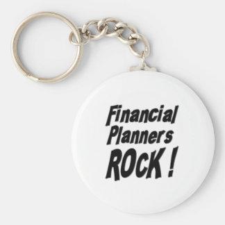 Financial Planners Rock! Keychain