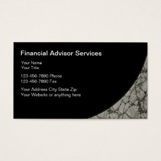 Financial Planning Business Cards