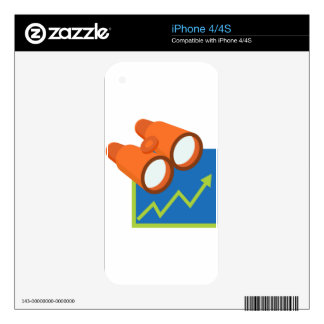Financial Report Forecast Icon Skin For iPhone 4S