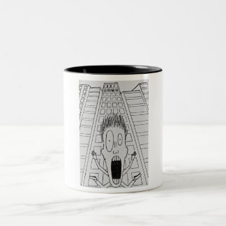 Financial Security Two-Tone Coffee Mug