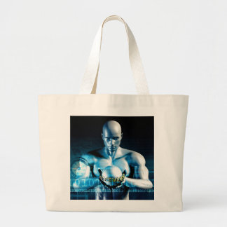 Financial Services and Technology Software Large Tote Bag