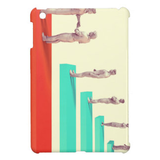 Financial Services or Fintech Company as Concept iPad Mini Covers