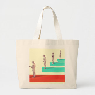 Financial Services or Fintech Company as Concept Large Tote Bag