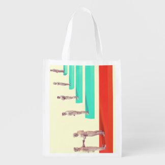 Financial Services or Fintech Company as Concept Reusable Grocery Bags