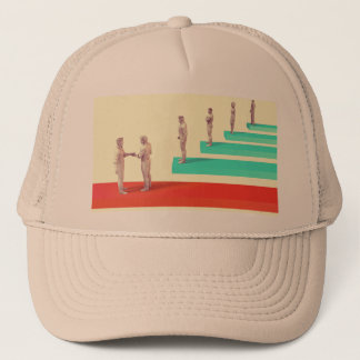 Financial Services or Fintech Company as Concept Trucker Hat