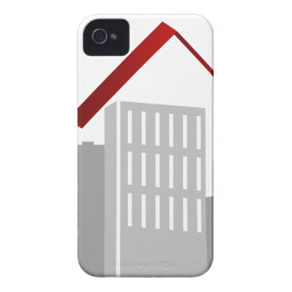 Financial Stock Market Business Cityscape Case-Mate iPhone 4 Cases