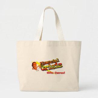 FinancialCrisis Jumbo Tote Bag