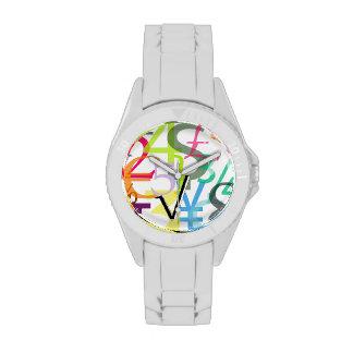 Finanzas de PixDezines 123 Relojes De Pulsera
