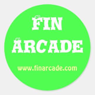 FinArcade Sticker