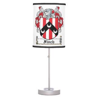 Finch Family Crest Desk Lamps