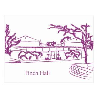 Finch Postcard