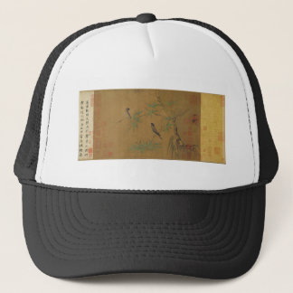 Finches and Bamboo by Emperor Huizong Trucker Hat