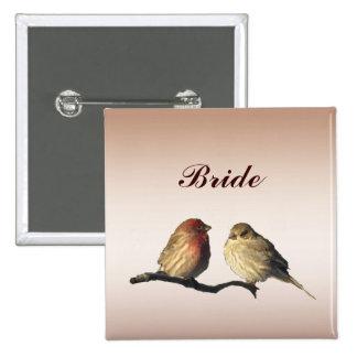 Finches Bridal Pin