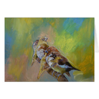 Finches Card