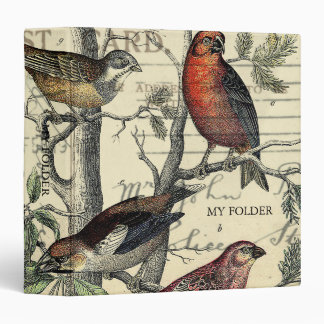 Finches Looking Binder