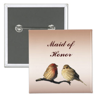 Finches Maid of Honor Pin