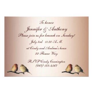 Finches Wedding Brunch