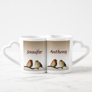 Finches Wedding Lovers Mugs
