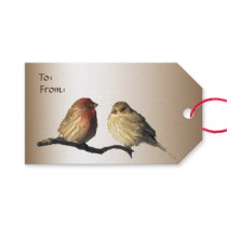 Finches Wedding Pack of Gift Tags
