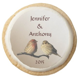 Finches Wedding Sugar Cookies