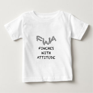Finches With Attitude Baby T-Shirt